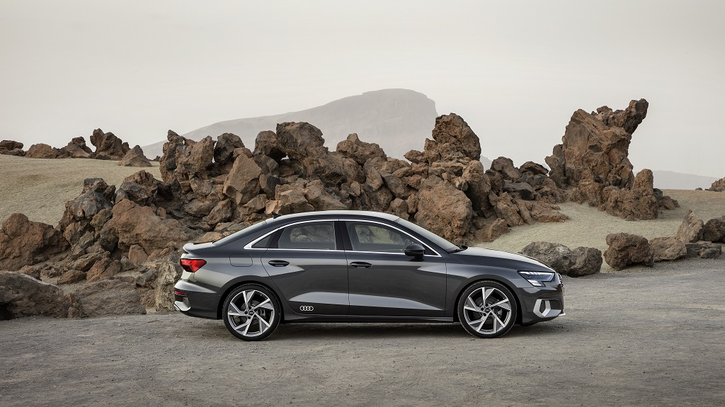 új Audi A3 Sedan
