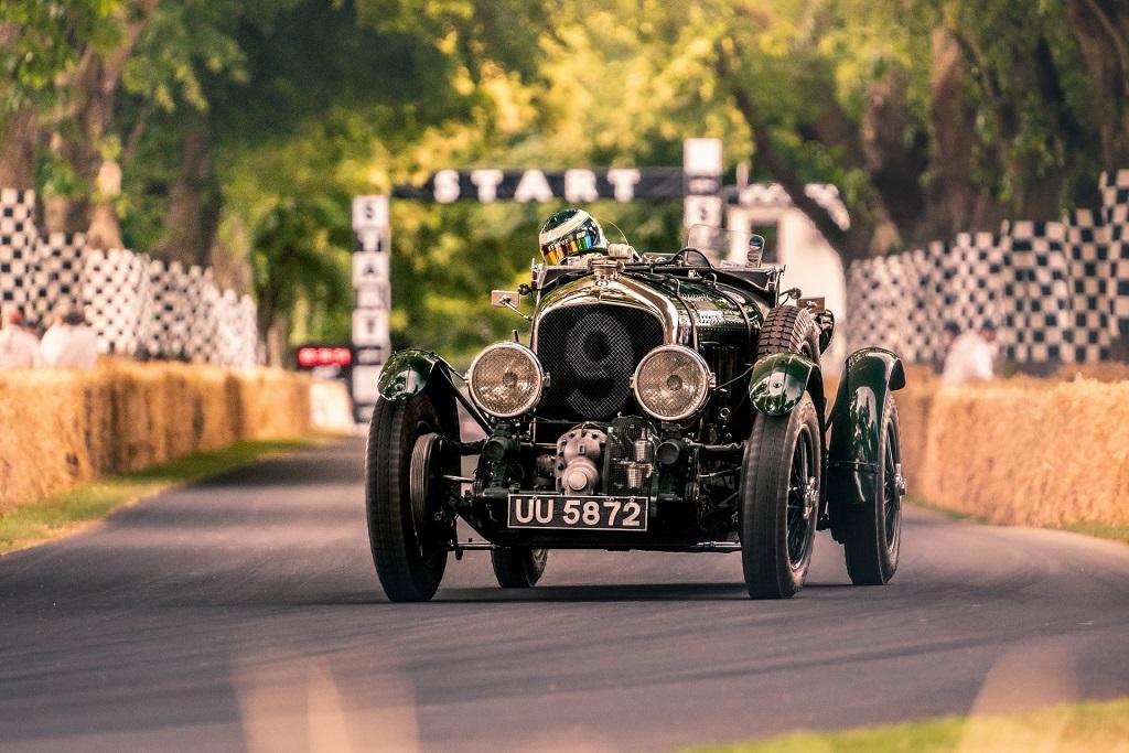 Bentley Blower digitalizálása
