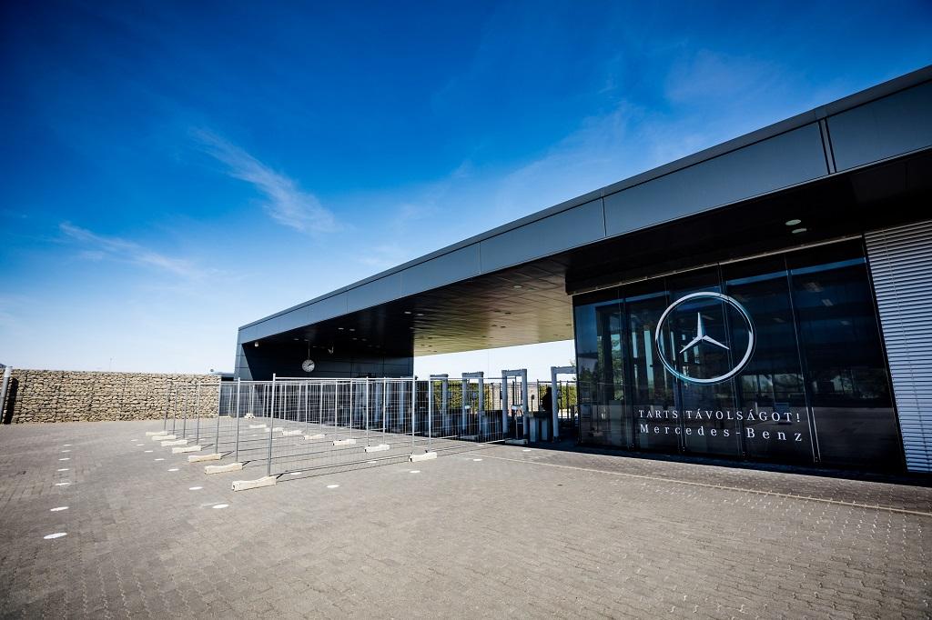 kecskeméti Mercedes-Benz gyár