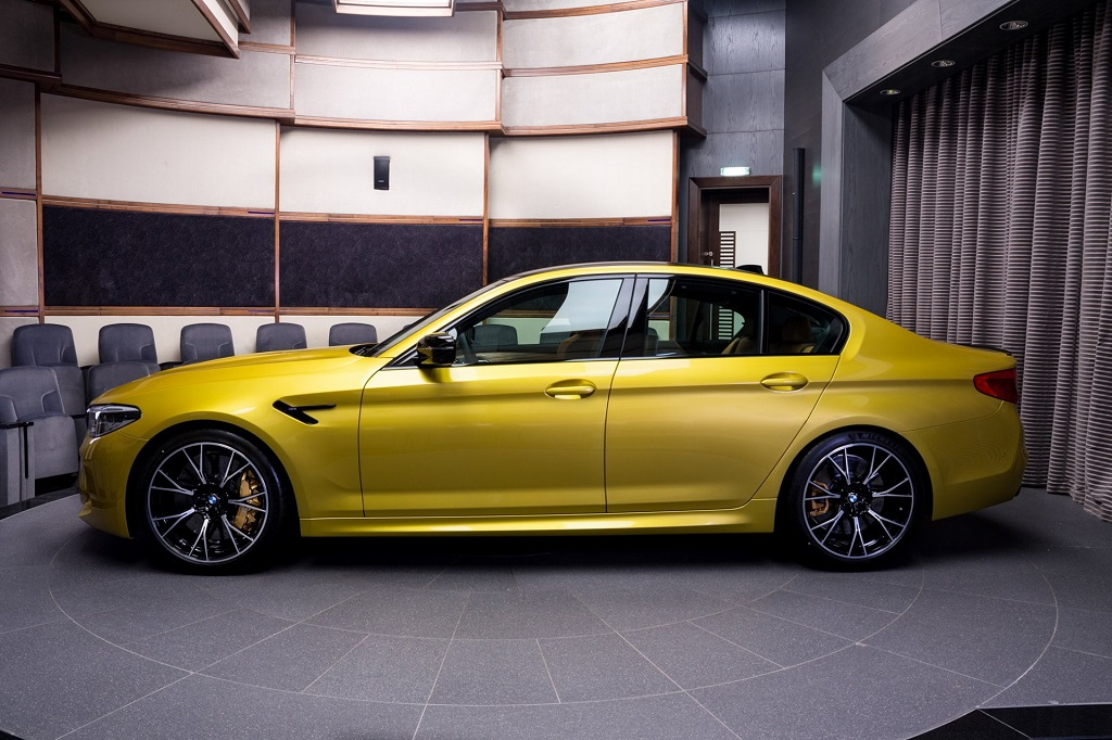 Austin Yellow M5 Competition