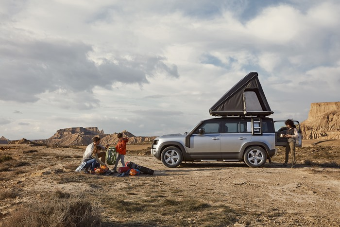 új Land Rover Defender