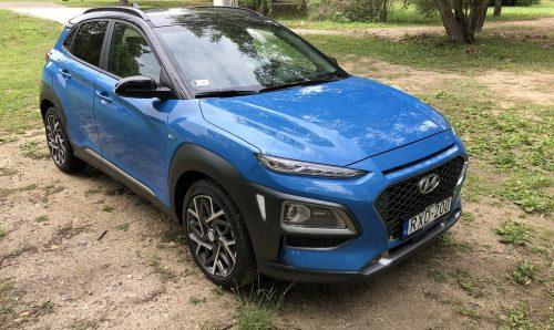 Hyundai Kona Hybrid teszt