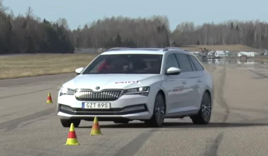 Jávorszarvas-teszt VW