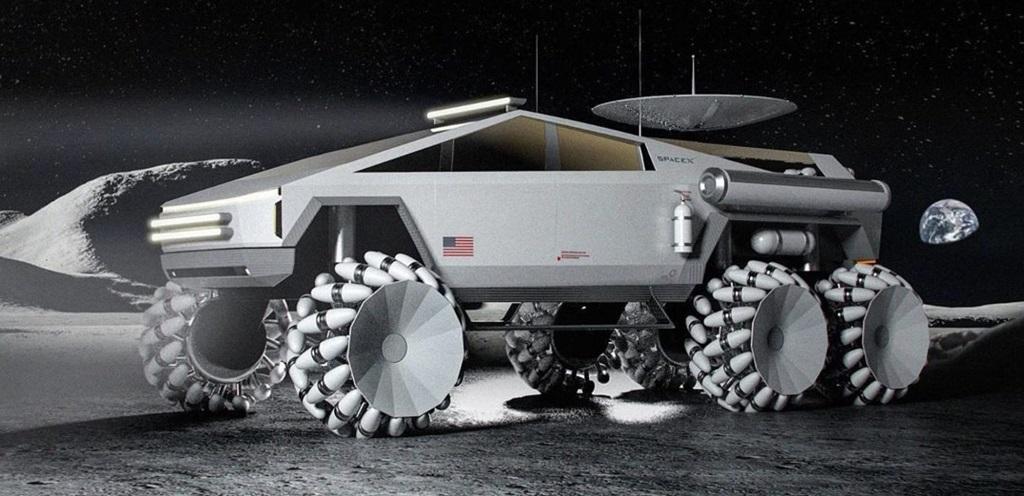 Holdjáró Tesla Cybertruck