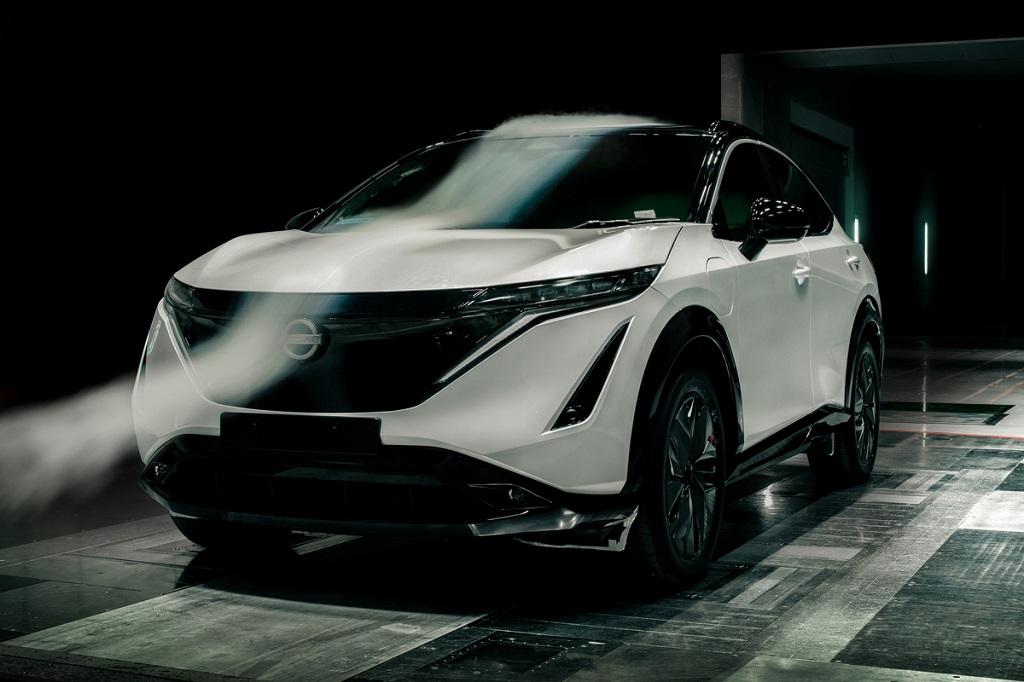 Nissan Ariya légellenállás