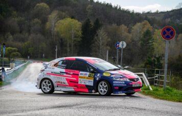 Orfű Rallye Honda Civic