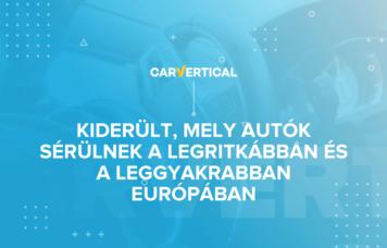 sérült autók Európában