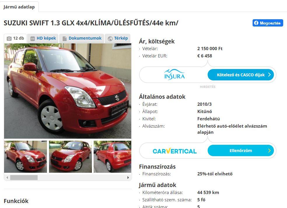 drágábbak a használt autók