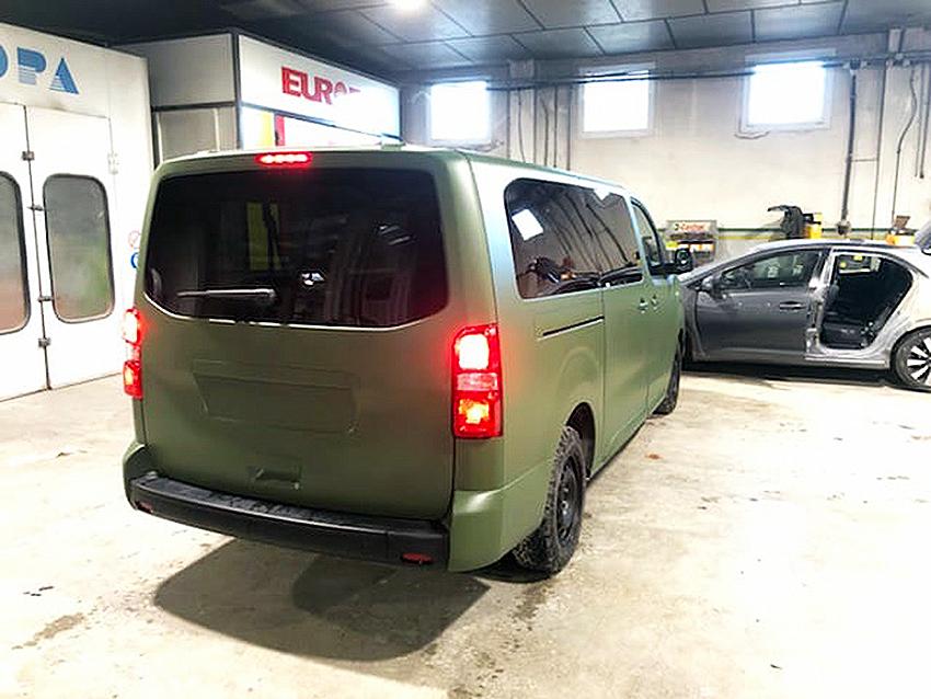 katonai Peugeot