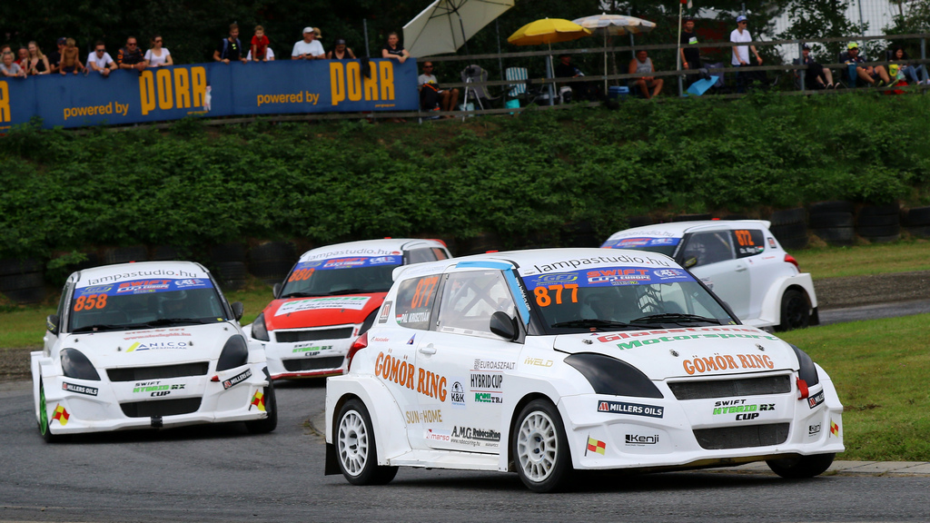 Pál Krisztán rallycross